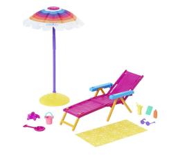 Lalka i akcesoria Barbie Loves the Ocean Zestaw Dzień na plaży