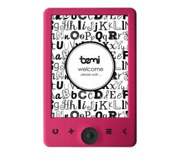 Czytnik ebook Bemi Cognita 6'' różowy