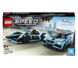 Klocki LEGO® LEGO Speed Champions 76898 Formula E Jaguar Racing i I