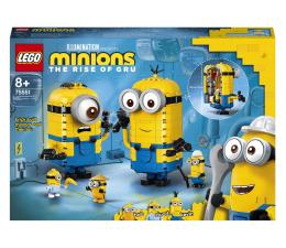 Klocki LEGO® LEGO Minions 75551 Minionki z klocków i ich gniazdo