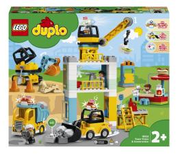 Klocki LEGO® LEGO DUPLO 10933 Żuraw wieżowy i budowa
