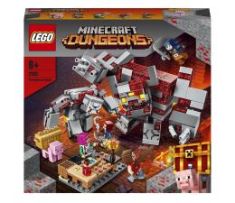 Klocki LEGO® LEGO Minecraft 21163 Bitwa o czerwony kamień