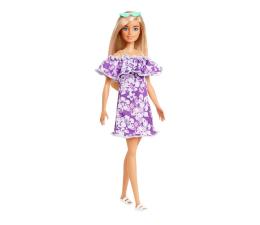 Lalka i akcesoria Barbie Loves the Ocean Lalka Fioletowa sukienka
