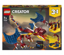 Klocki LEGO® LEGO Creator 31102 Smok ognia