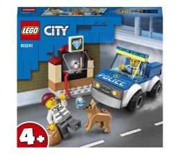 Klocki LEGO® LEGO City 60241 Oddział policyjny z psem