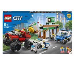 Klocki LEGO® LEGO City 60245 Napad z monster truckiem