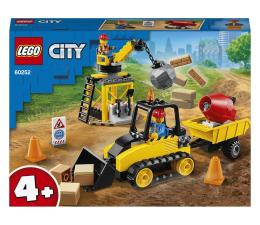 Klocki LEGO® LEGO City 60252 Buldożer budowlany