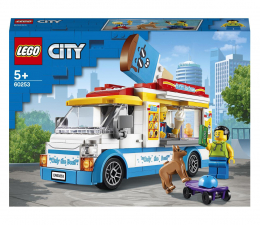 Klocki LEGO® LEGO City 60253 Furgonetka z lodami