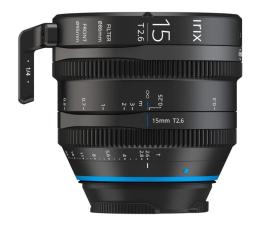 Obiektywy stałoogniskowy Irix Cine 15mm T2.6 do Canon EF Metric