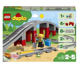 Klocki LEGO® LEGO DUPLO 10872 Tory kolejowe i wiadukt