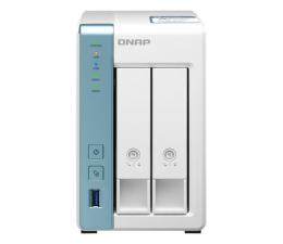 Dysk sieciowy NAS / macierz QNAP TS-231P3-4G (2xHDD, 4x1.7GHz, 4GB, 3xUSB, 2xLAN)