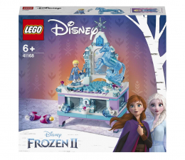 Klocki LEGO® LEGO Disney Princess 41168 Szkatułka na biżuterię Elsy