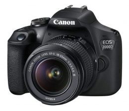 Lustrzanka Canon EOS 2000D+ EF-S 18-55mm F4-5.6IS STM