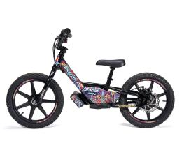 Rowerek elektryczny dla dzieci Racerone R1 Go Black Flowers