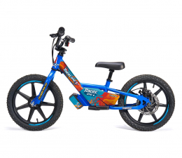 Rowerek elektryczny dla dzieci Racerone R1 Go Blue Flames