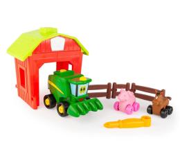 Pojazd / tor i garaż TOMY John Deere Zbuduj mini farmę