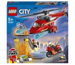 Klocki LEGO® LEGO City 60281 Strażacki helikopter ratunkowy