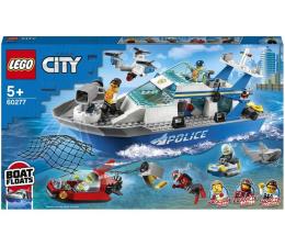 Klocki LEGO® LEGO City 60277 Policyjna łódź patrolowa