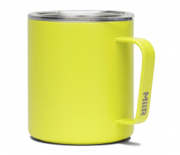 Akcesoria do kuchni MiiR Camp Cup Żółty - Kubek kempingowy 350 ml