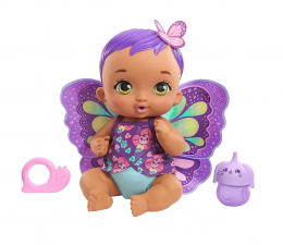 Lalka i akcesoria Mattel My Garden Baby Bobasek-Motylek Karmienie i przewijanie