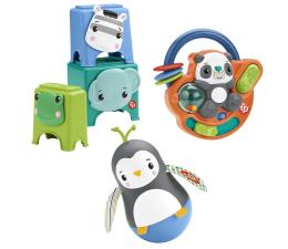 Zabawka dla małych dzieci Fisher-Price Zestaw prezentowy Rozwijamy zręczność