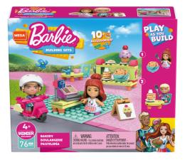 Klocki dla dzieci Mega Bloks Mega Construx Barbie Cukiernia