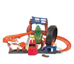 Pojazd / tor i garaż Hot Wheels Goryl toksyczny atak zestaw do zabawy