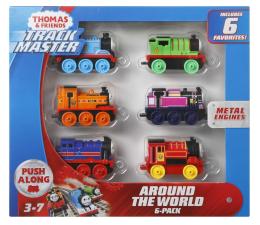 Kolejka / tory Fisher-Price Tomek i Przyjaciele Trackmaster 6-pak Dookoła świata