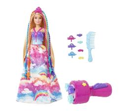 Lalka i akcesoria Barbie Księżniczka Zakręcone Pasemka