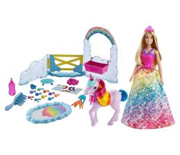 Lalka i akcesoria Barbie Księżniczka i Jednorożec Nauka Toalety