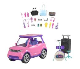 Lalka i akcesoria Barbie Big City Zestaw samochód i koncertowa scena