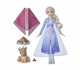 Lalka i akcesoria Hasbro Frozen 2 Lalka Elsa Zestaw ognisko