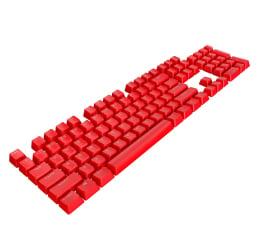 Keycaps do klawiatury Corsair PBT Double-shot Pro Keycaps (czerwone)