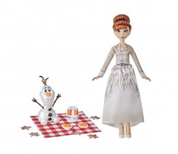 Lalka i akcesoria Hasbro Frozen 2 Anna i Olaf jesienny piknik