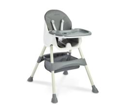 Krzesełko do karmienia Caretero Bill Grey 2w1