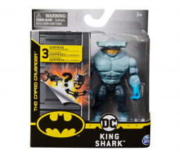 "Figurka Spin Master Batman 4"" King Shark + akcesoria"
