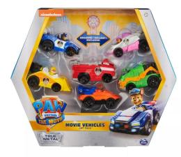 Pojazd / tor i garaż Spin Master Psi Patrol Zestaw 6 Metalowych Pojazdów