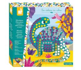 Zabawka kreatywna Janod Zestaw kreatywny Mozaika Dinozaury  4+