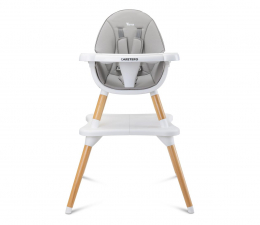Krzesełko do karmienia Caretero Krzesełko Do Karmienia Tuva Grey
