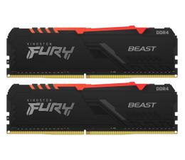 Pamięć RAM DDR4 Kingston FURY 16GB (2x8GB) 3200MHz CL16 Beast RGB