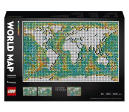 Klocki LEGO® LEGO ART 31203 Mapa świata