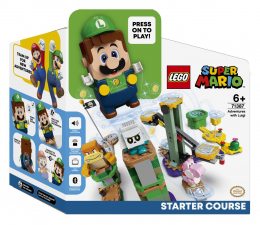 Klocki LEGO® LEGO Super Mario 71387 Przygody z Luigim