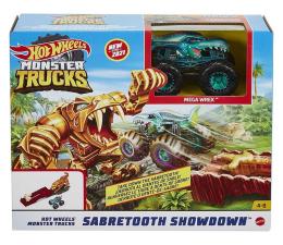 Pojazd / tor i garaż Hot Wheels Monster Trucks Sabretooth