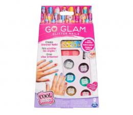 Zabawka kreatywna Spin Master Cool Maker Go Glam Brokatowy zestaw do zdobienia paznokci