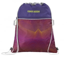 Worek na buty Coocazoo Worek Na Buty RocketPocket 2 FIX Soniclights Purple