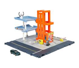 Pojazd / tor i garaż Mattel Matchbox Prawdziwe Przygody Garaż Zestaw światła i dźwięki