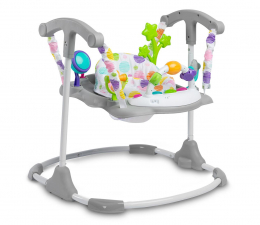Jeździk/chodzik dla dziecka Toyz Skoczek Dziecięcy Cosmo Grey
