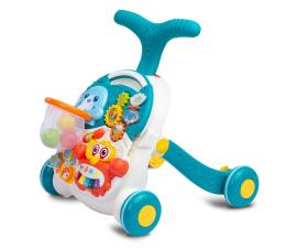 Jeździk/chodzik dla dziecka Toyz Pchacz Stolik 2w1 Spark Turquoise