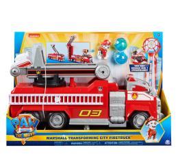 Pojazd / tor i garaż Spin Master Psi Patrol Wóz Strażacki Marshall'a Transformacja