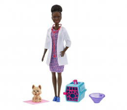 Lalka i akcesoria Barbie Kariera Weterynarz